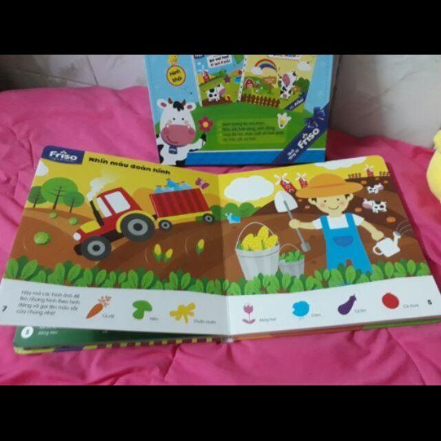 Combo 13 sách sắc màu và hình khối