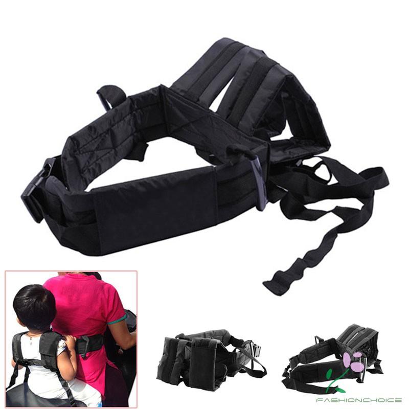 New Kids Children's Motorcycle Safety Belt Adjustable Electric Vehicle Safe Strap Carrier For Child Safe