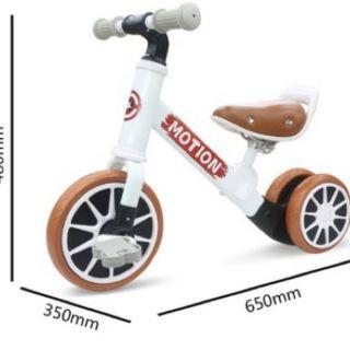 Xe chòi chân 2in1 có bàn đạp cao cấp Motion