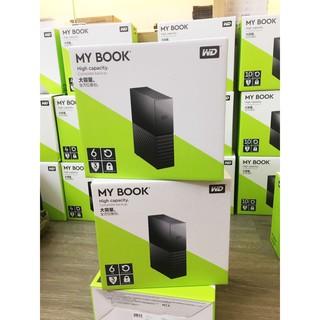 Ổ cứng di động W.D Mybook 6TB 8TB 10TB Có nguồn rời – Chính hãng bảo hành 3 năm