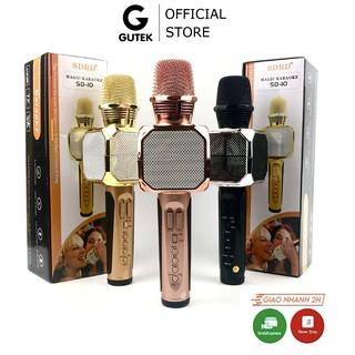 Micro Bluetooth Hát Karaoke Không Dây GUTEK SD10 Đa Năng