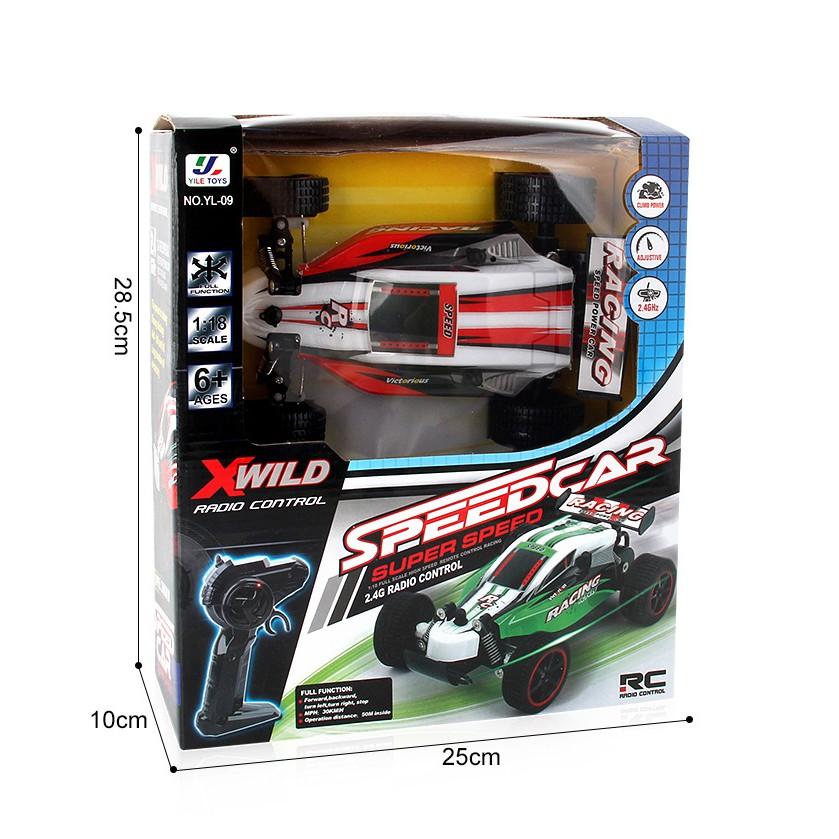 Đồ chơi xe đua điều khiển từ xa công thức tốc độ cao