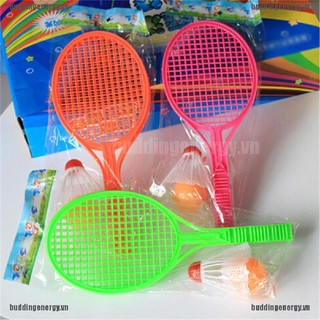 {buddi} Kids Outdoor Badminton Tennis Set Racket Parent-child Sport Educational Toys{LJ}