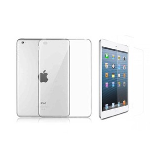 Combo kính cường lực và ốp lưng cứng cho iPad 2/3/4
