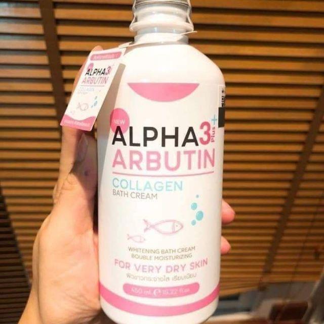 Sữa Tắm Alpha Thái Lan