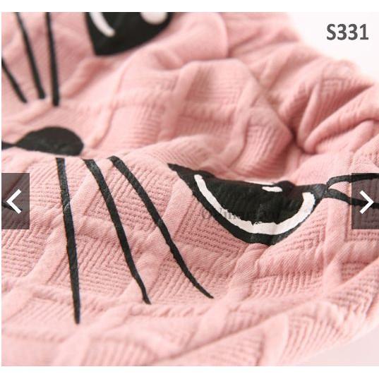 bộ cho bé- sét hồng thỏ 210