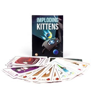 Trò Chơi Board Game BG1014 Mèo Nổ Bản Mở Rộng #3 Imploding Kittens