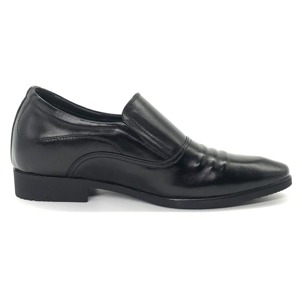 Giày Công Sở Nam Lucacy Tăng Chiều Cao 6cm Da Bò Cao Cấp N1621C