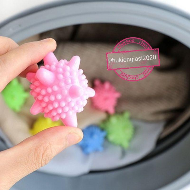 quả Cầu gai cao su thả lồng máy giặt quần áo