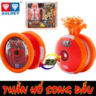 Yoyo - Quyết đấu Yo Kwon Do - THẦN HỒ SONG ĐẤU - CHÍNH HÃNG AULDEY ( Đỏ ) thumbnail