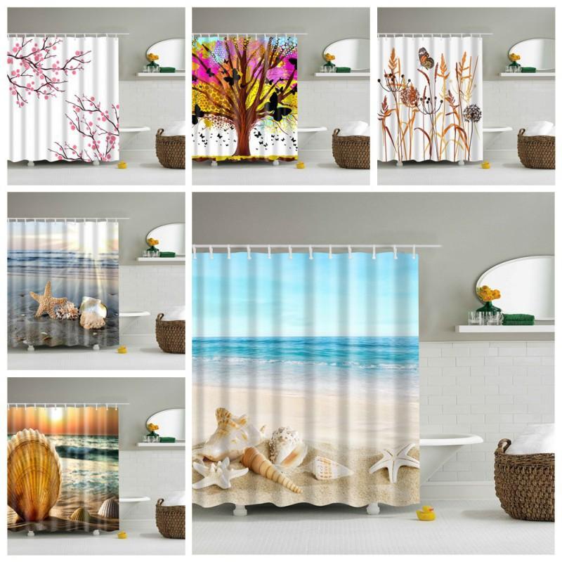 Rèm tắm xinh xắn trang trí nội thất