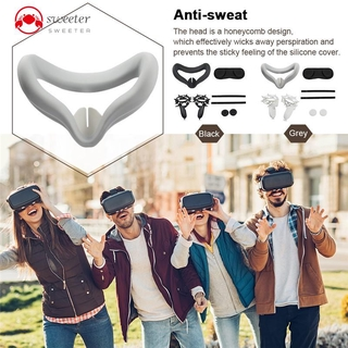 Ready Sweeter Effectively Wicks Away Perspiration And Prevents The Sticky Feeling Of The Silicone Cover Portable Oculus Quest 2 Accessories Set