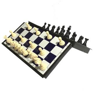 [Giá sỉ] Bộ cờ vua nam châm cao cấp (đen trắng)