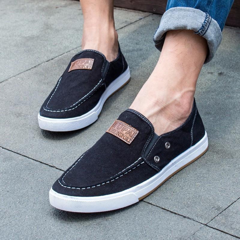 Giày lười vải jean cá tính G43