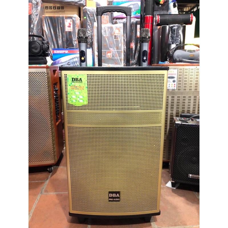 [Sale Sập Sàn] Loa Kéo DBA CG 1290 Bass 30 Âm thanh tinh khiết, sống động, kèm 2 mic Wireless,...