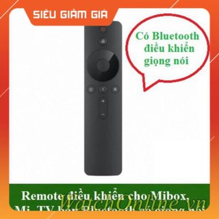 Remote điều khiển cho Mibox, Mi TV bản Bluetooth, có voice