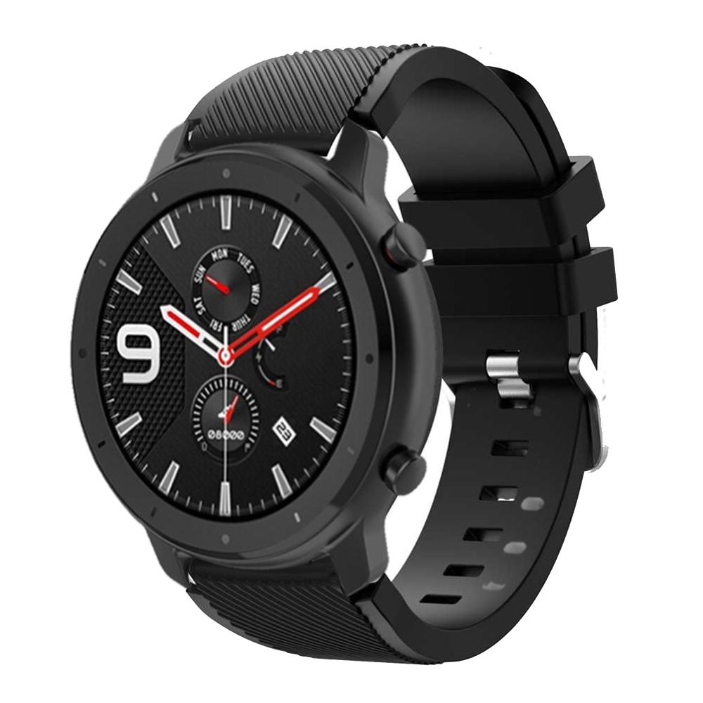 Dây Đeo Thay Thế Chất Liệu Silicon Thiết Kế Nhiều Lỗ Thời Trang Cho Huami Amazfit Gtr 47mm / Galaxy Watch 46mm / Samsung Gear S3