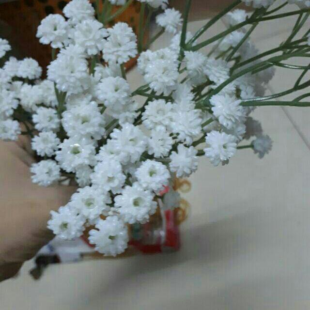 Hoa sao trắng PU cao cấp - 3142279 , 290014365 , 322_290014365 , 40000 , Hoa-sao-trang-PU-cao-cap-322_290014365 , shopee.vn , Hoa sao trắng PU cao cấp