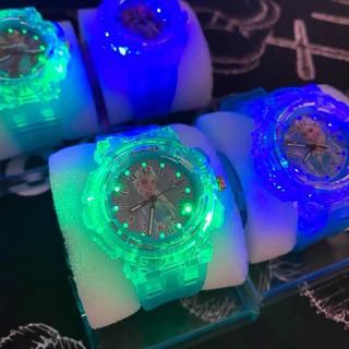 Đồng Hồ Trẻ Em❤️Freeship❤️Đèn LED dạ quang 7 màu Cho bé trai bé gái
