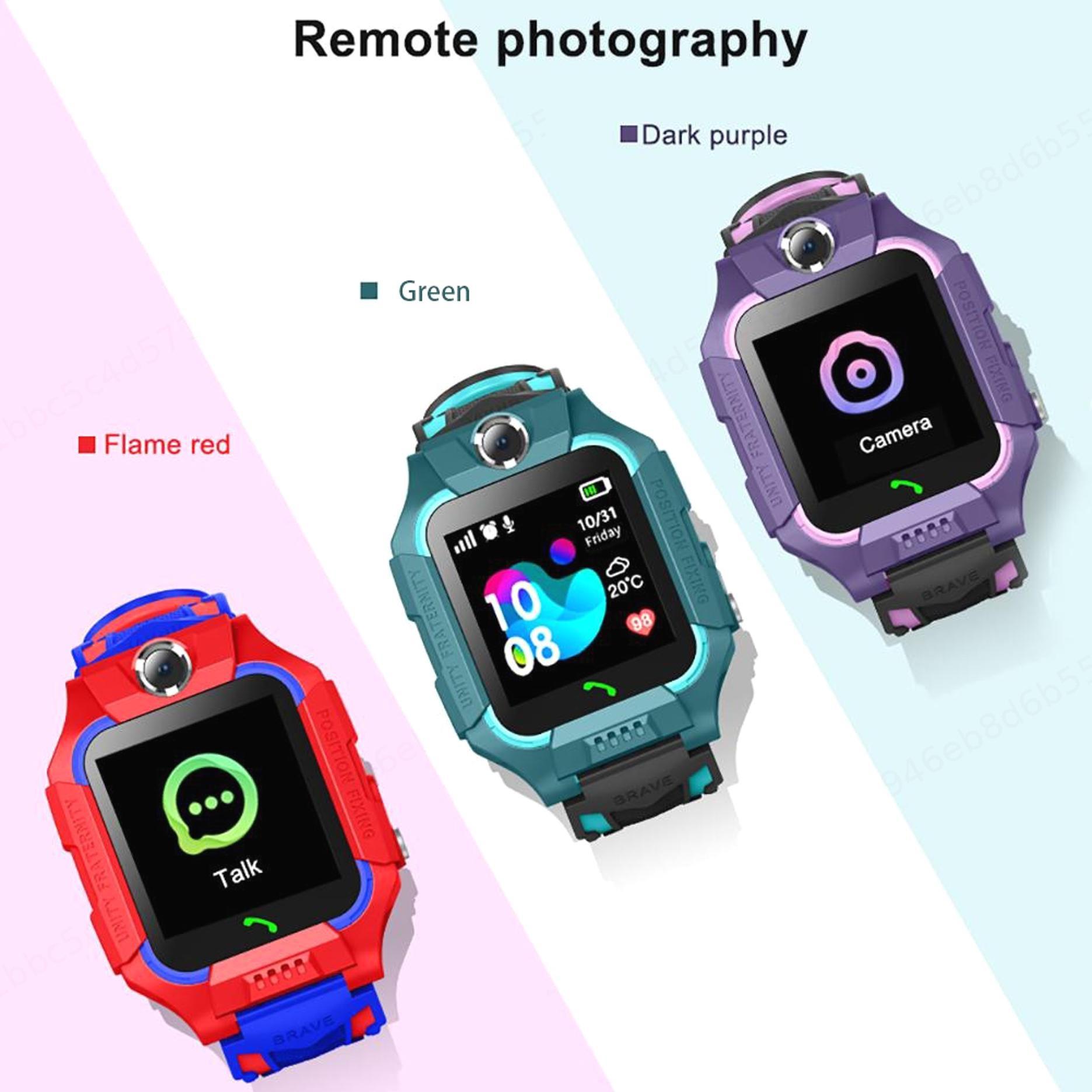Q12 Jam Kids Smart Watch Children Waterproof Phone Watch Support SIM Card GPS SOS Dual Anti Lost Q12B
