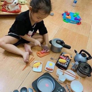 Bộ đồ chơi nấu ăn mẫu mới 2019