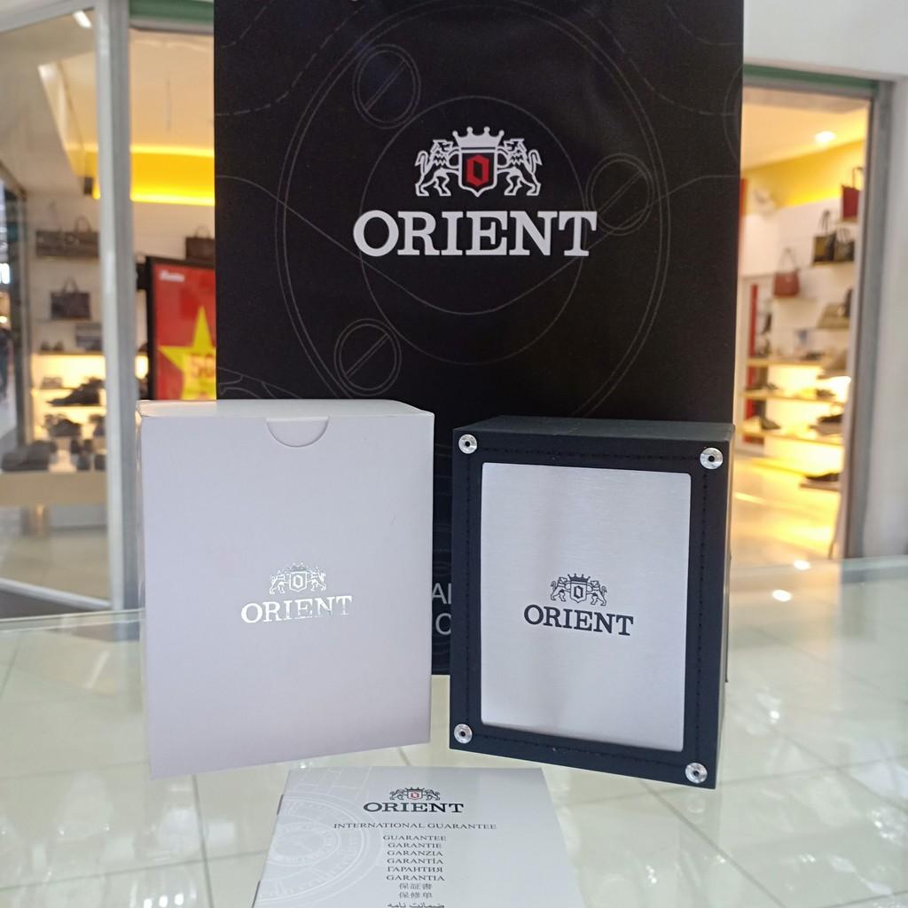 Đồng hồ Nam Orient SUND6001W0 [ Chính hãng full box ] Quartz , Dây thép