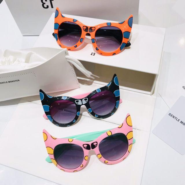 Mắt kính mèo siêu nhân dễ thương cho bé giá sỉ
