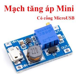Mạch Tăng Áp Mini có Cổng Micro USB ( XY-016 | MT3608 )