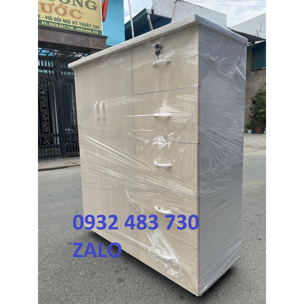 Tủ nhựa Đài Loan 5 tầng 2 ngăn HCM