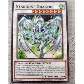 Bài Yugioh Stadust Dragon