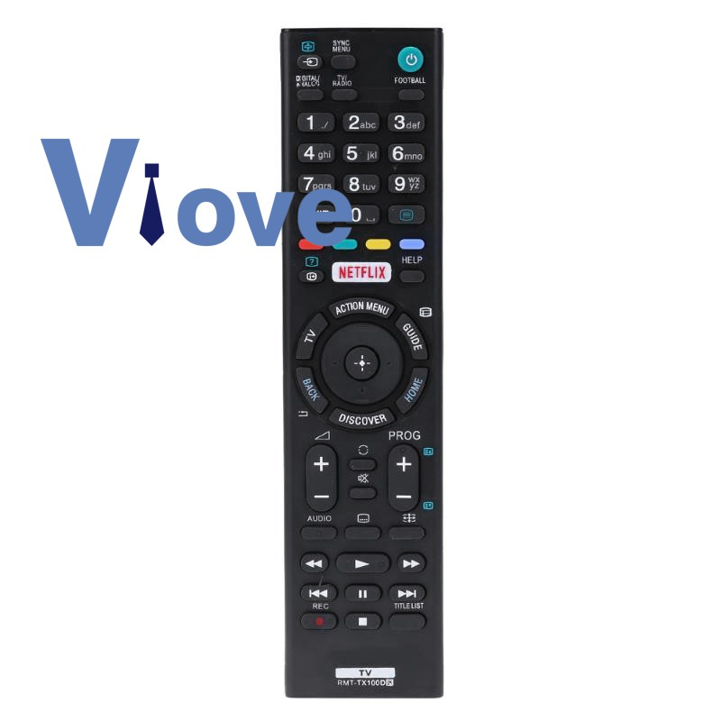 Remote Control Replacement For Sony Rmt-Tx100D Rmt-Tx101J Tx102U