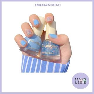 (Có sẵn) Set 2 Chai sơn móng tay TWO-MOONS 2 màu - MARS LESIE thumbnail