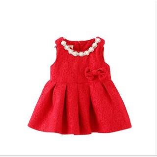 Váy dạ đỏ cổ đá