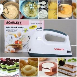 (Sale Sock)Máy Đánh Trứng Cầm Tay Mini Cao Cấp Với 7 Tốc Độ Cực Mạnh siêu tiện lợi thumbnail