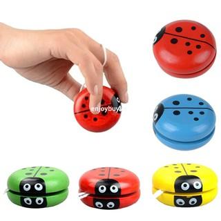 enjoybuy.vn Yoyos Classic Toys Insect Bug YoYo Balls Children Creative Wooden Toys