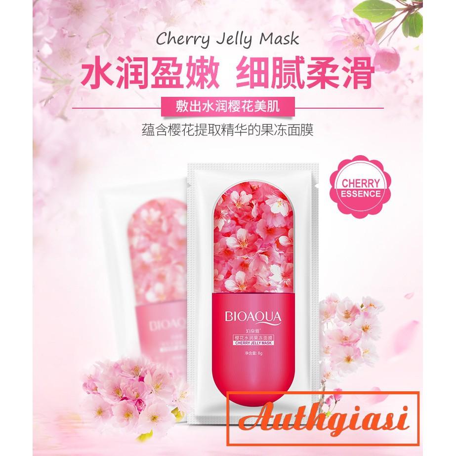 Mặt Nạ Ngủ Viên Thuốc Dưỡng Ẩm Trắng Da Bioaqua Jelly Mask 8g