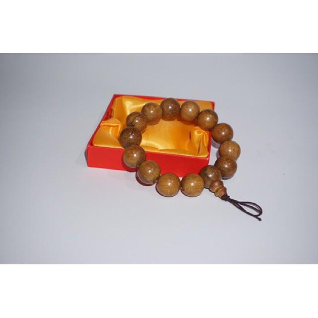 ARUME -Vòng gỗ phong thuỷ bách xanh thơm full hộp
