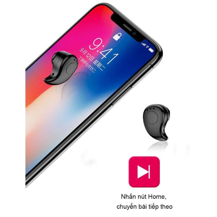 Tai nghe nhét tai Bluetooth siêu nhỏ - ShopToro