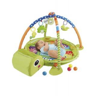 Thảm nằm chơi hình con rùa 2 trong 1 Konig Kids 63545