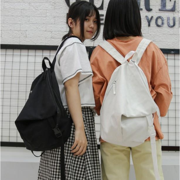 Order balo Schoolbag nữ Hàn Quốc Harajuku ulzzang học sinh trung học ba lô sen bộ phận của màu tinh