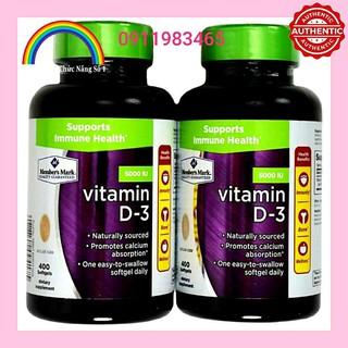 Vitamin D3 Member's Mark 5000IU Cam Kết Chính Hãng