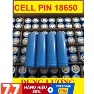 Cell Pin 18650 4800mAh SIÊU BỀN dung lượng cao dùng cho quạt MINI đèn pin tông đơ cắt tóc, chế tạo pin dự phòng
