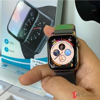 Miếng Dán Cường Lực Apple Watch Dẻo 3D cỡ 38/40/42/44mm cho series 5/4/3/2/1