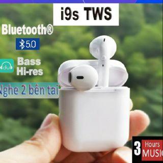 [Mã ELFLASH5 giảm 20K đơn 50K] Tai nghe Bluetooth Không dây I9S TWS Âm thanh cực hay dành cho iOS hoặc Android.