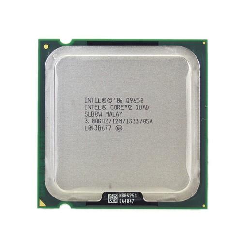 CPU Core 2 Quad Q 9650, Q 9550, Q 9500, Q 9400, Q8400 , Q6600 socket 775