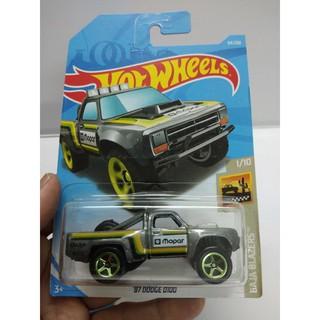 Xe Mô Hình Chính Hãng HotWheels – 87 Dodge D100