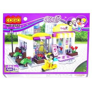 COGO – Mô hình cửa hàng thời trang (4542)