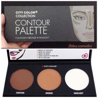 Bảng Phấn Tạo Khối Và Highlight City Color Contour Palette thumbnail