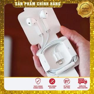 Tai Nghe Iphone Có Dây Jack Lightning Cao Cấp, KHÔNG Cần Kết Nối Bluetooth [Zin Linh Kiện Bảo Hành 12 Tháng]