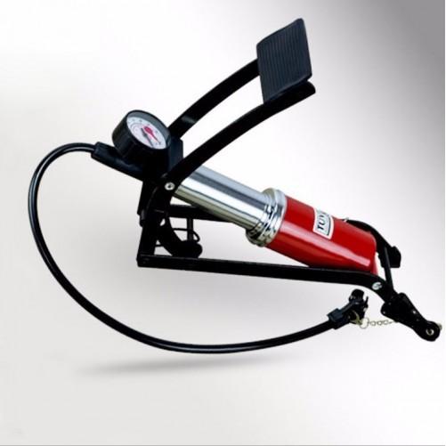 Bơm đạp chân ô-tô, xe máy JC 702A (Đỏ)